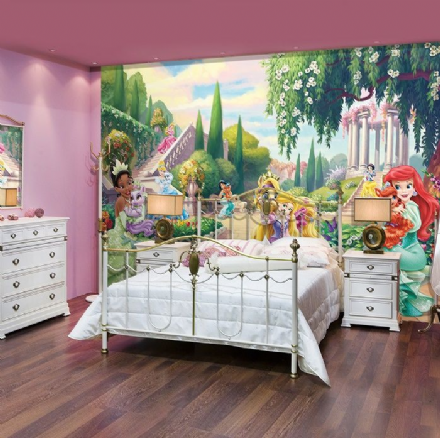 XL Palace pets garden Disney wallpaper mural
